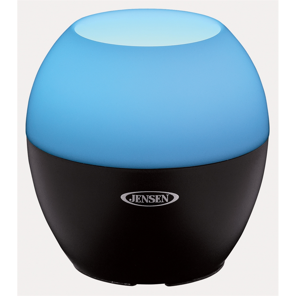 Bluetooth Wireless Speaker with Color Changing Lamp