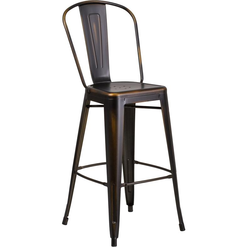 Dakota Adjustable Height Swivel Stool