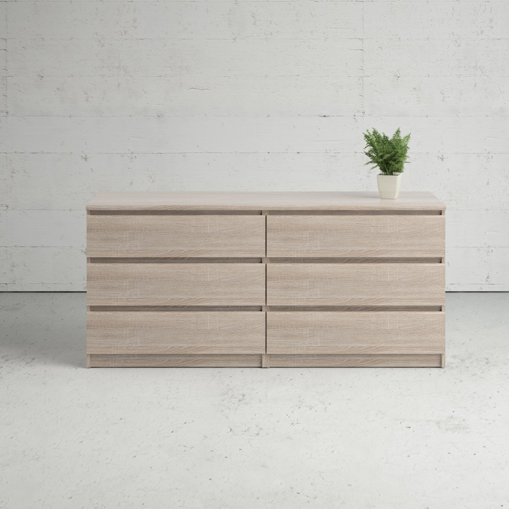 Scottsdale 6 Drawer Double Dresser, Truffle. Picture 13