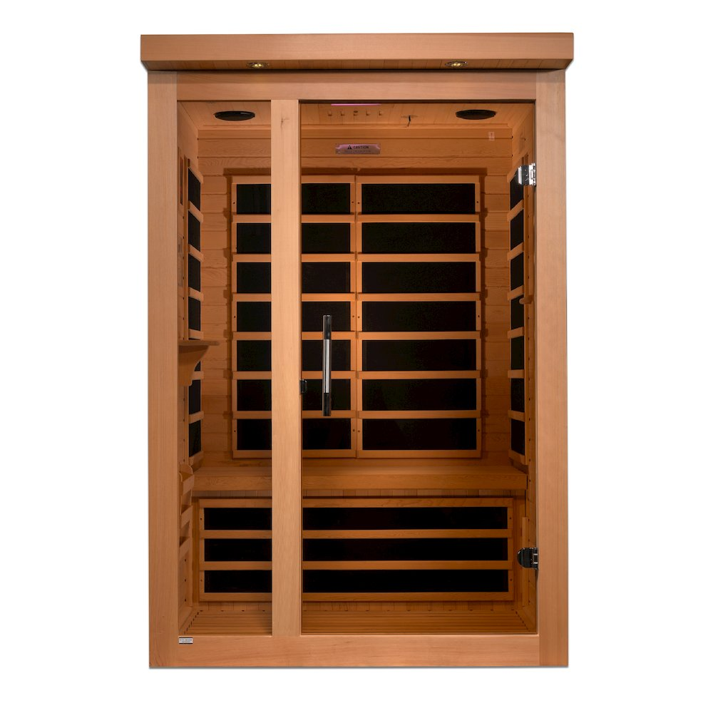 "Dynamic ""Amodora"" 2-person Low EMF Far Infrared Sauna. Picture 1"