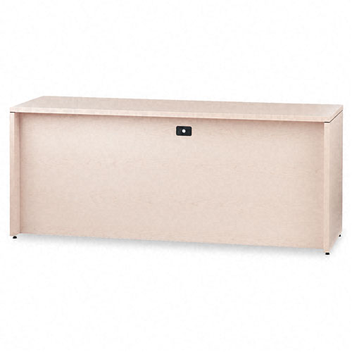 10500 Series Credenza w/Right Lateral File, 72w x 24d x 29-1/2h, Natural Maple. Picture 2