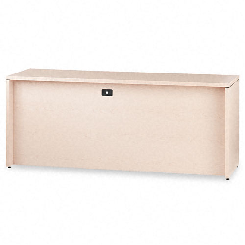 10500 Series Credenza w/Left Lateral File, 72w x 24d x 29-1/2h, Natural Maple. Picture 2