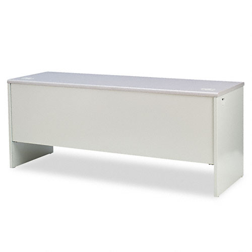 38000 Series Kneespace Credenza, 72w x 24d x 29-1/2h, Gray Patterned/Light Gray. Picture 2
