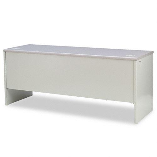 38000 Series Left Pedestal Credenza, 72w x 24d x 29-1/2h, Gray. Picture 2