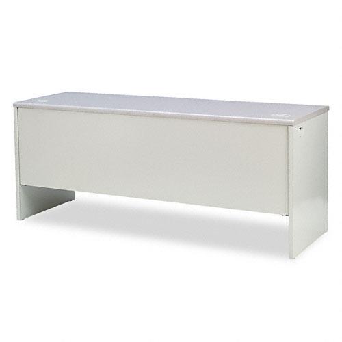 38000 Series Right Pedestal Credenza, 72w x 24d x 29-1/2h, Gray. Picture 2