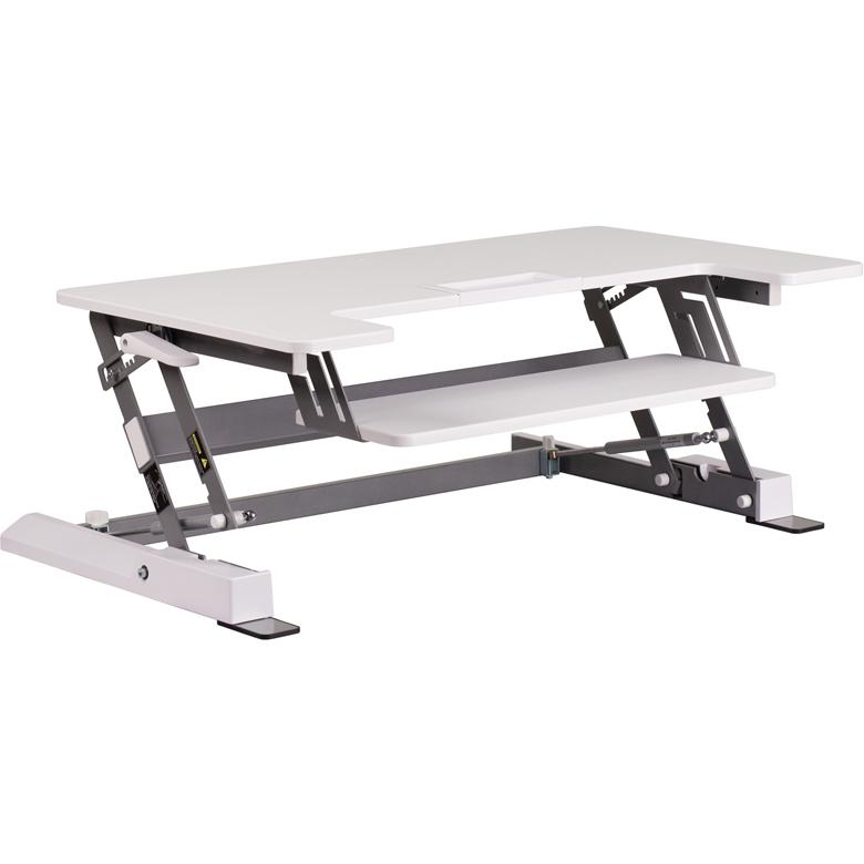 Hercules Series 36 25 W White Sit Stand Height