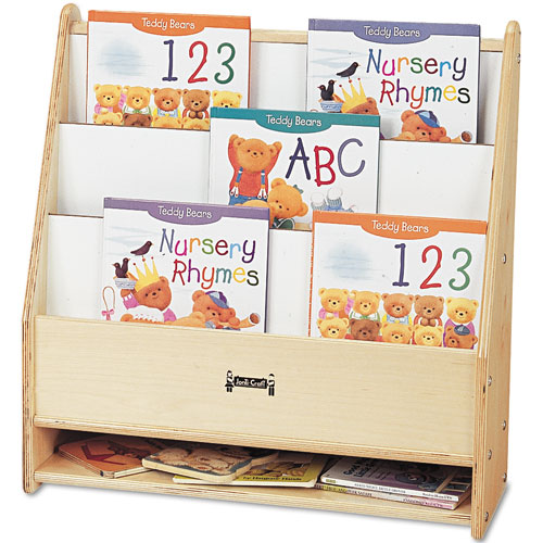 Toddler Pick-a-Book Stand, 24w x 9d x 25h, Birch. Picture 2