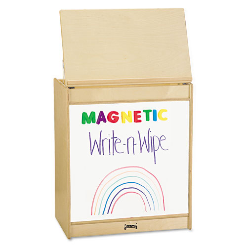 Big Book Easels, 24-1/2w x 15d x 20h, White. Picture 1