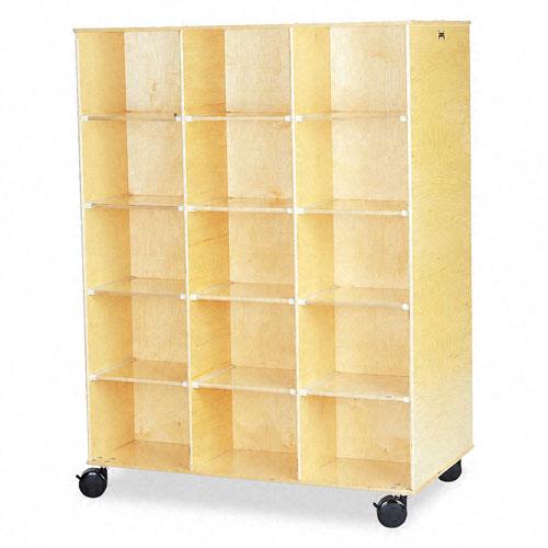 Big Twin Storage Cabinet, 48w x 29d x 29-1/2h, Birch. Picture 2