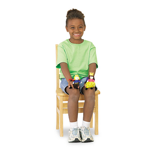 """Kydz Ladderback Chair, 16"""" High Seat, 2/Carton. Picture 1"""