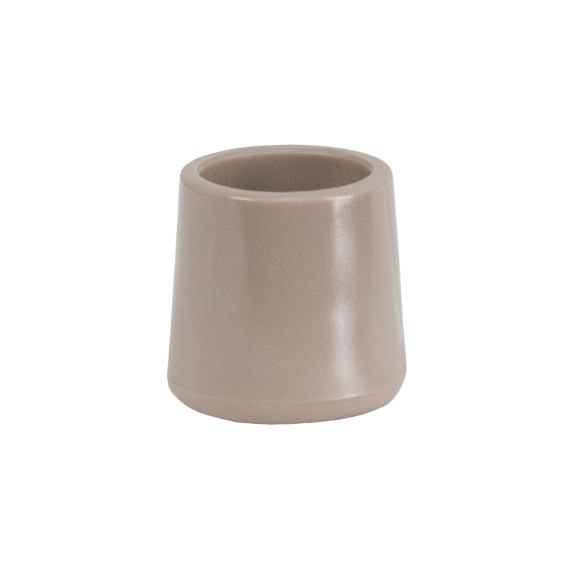 Beige Replacement Foot Cap For Plastic Folding Chairs