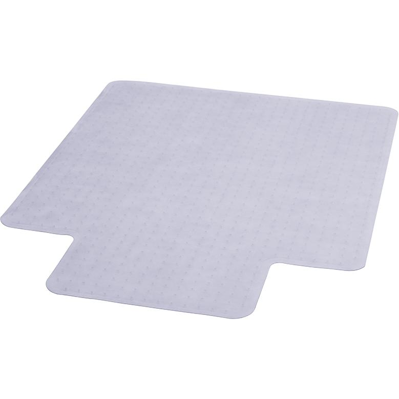 36 x 48 carpet chair mat with lip