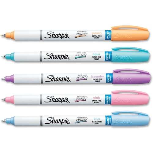 Sharpie Pastel Paint Markers Extra Fine Marker Point