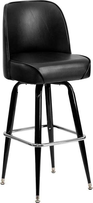 Metal Barstool with Swivel Bucket Seat : xu f 125 gg from www.bisonoffice.com size 361 x 783 jpeg 84kB