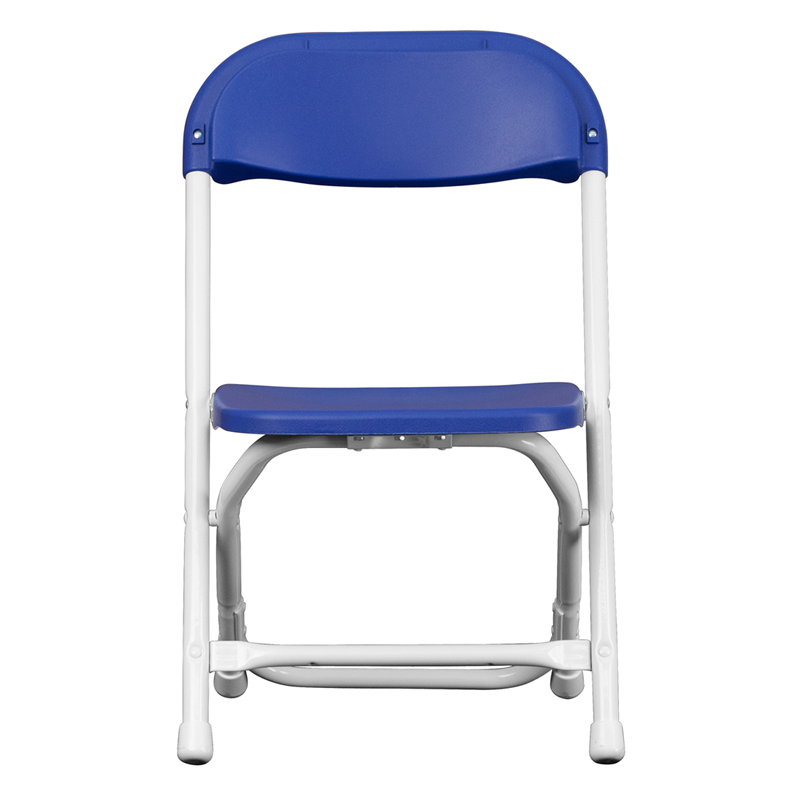 Kids blue plastic folding chair for Kids plastic chairs