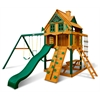 Chateau Clubhouse Treehouse Swing Set w/ Timber Shield