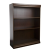 "Jefferson traditional wood veneer bookcase, 48"" H Mahogany"