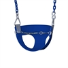 Half Bucket Toddler Swing - Blue