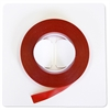 "Magna Visual 1/4"" W Red Vinyl Chart Tape"