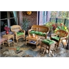 Tortuga Outdoor Portside 6Pc Seating - Amber - Monti Leaf