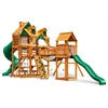 Malibu Treasure Trove I Swing Set w/ Amber Posts
