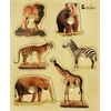 Edushape Large Knob Puzzle - Wild Animal