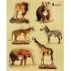 Large Knob Puzzle - Wild Animal