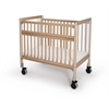 Infant ClearView Folding Rail Crib