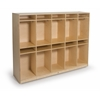 10 Section Coat Locker