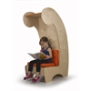 Contemporary Reading Chair Bookcase