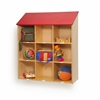 Whitney Brothers Red Roof Wall Storage