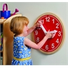 What Time Is It? Wall Clock - Red