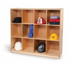 Whitney Brothers 12 Cubby Backpack Storage Cabinet