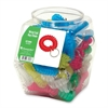 Wrist Coil Key Chain Tub Display - 50 / Display Box - Assorted