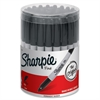 Sharpie Fine Point Permanent Marker - Marker Point Style: Point - Ink Color: Black - 36 / Display Box