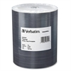 Verbatim 97015 DVD Recordable Media - DVD-R - 16x - 4.70 GB - 100 Pack Wrap - Thermal Printable