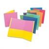 "Oxford Twisted Twin Pocket Folders - Letter - 8.50"" Width x 11"" Length Sheet Size - 2 Pockets - Assorted - 50 / Carton"