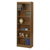 "Wood Veneer Baby Bookcase - 24.0"" x 12.0"" x 72.0"" - Wood, Particleboard - 6 x Shelf(ves) - Medium Oak"
