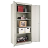 "Alera Assembled 78"" High Storage Cabinet, w/Adjustable Shelves, 36w x 24d, Light Gray"