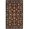 "Nourison Nourison 2000 Rectangle Rug  By Nourison, Burgundy, 2'6"" X 4'3"""