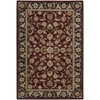 "2000 Rectangle Rug By, Burgundy, 3'9"" X 5'9"""