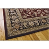 "2000 Rectangle Rug By, Burgundy, 7'9"" X 9'9"""