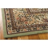 "Nourison Nourison 2000 Rectangle Rug  By Nourison, Light Green, 7'9"" X 9'9"""