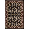 "2000 Rectangle Rug By, Black, 3'9"" X 5'9"""