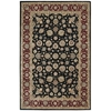 "Nourison Nourison 2000 Rectangle Rug  By Nourison, Black, 5'6"" X 8'6"""