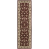 "2000 Runner Rug By, Burgundy, 2'3"" X 8'"