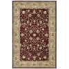 "Nourison Nourison 2000 Rectangle Rug  By Nourison, Burgundy, 5'6"" X 8'6"""