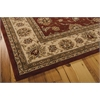"Nourison Nourison 2000 Rectangle Rug  By Nourison, Brick, 7'9"" X 9'9"""