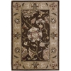 2000 Rectangle Rug By, Brown, 2' X 3'