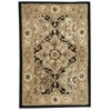 2000 Rectangle Rug By, Black, 2' X 3'